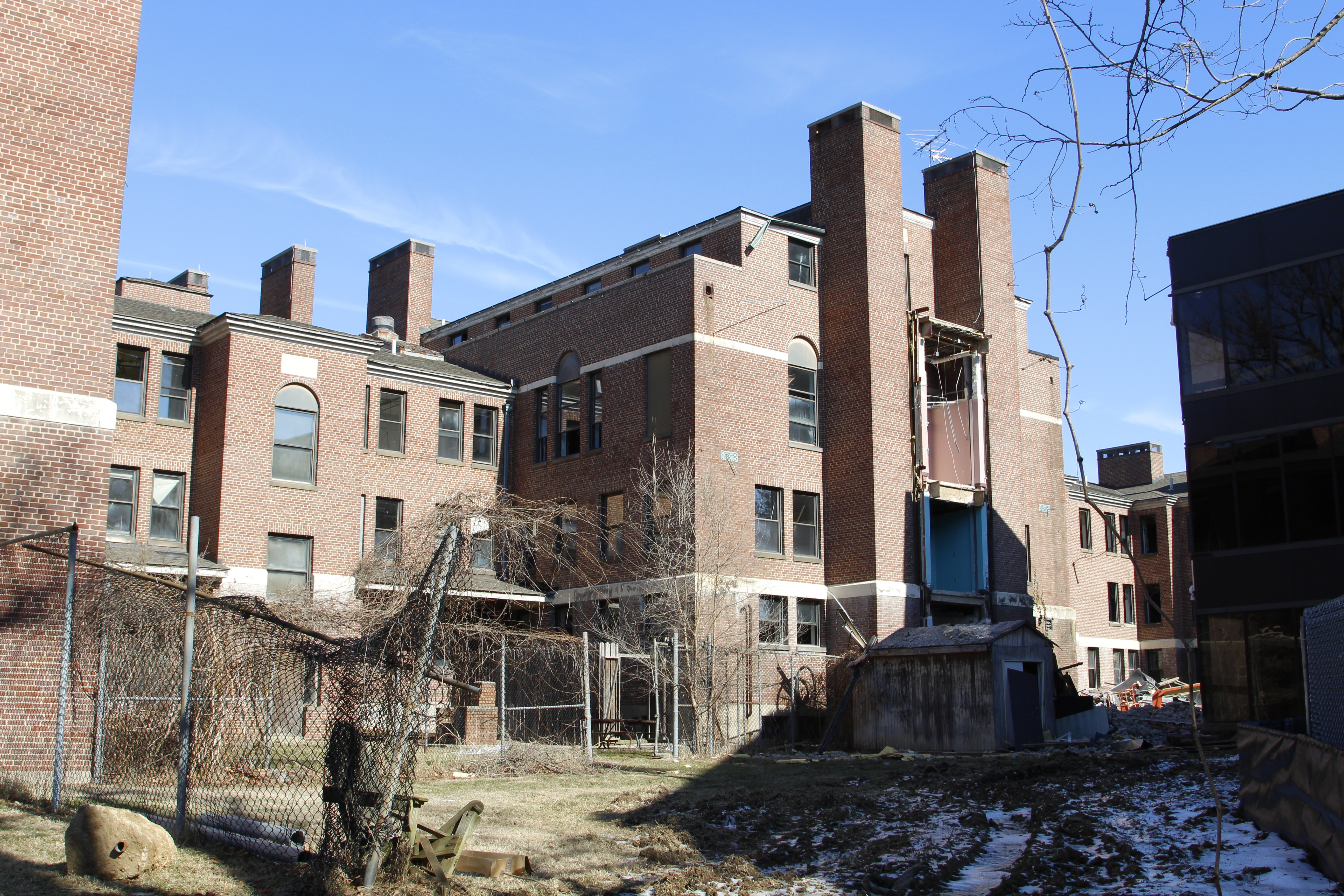 North Chapman Building Demolition Jmt