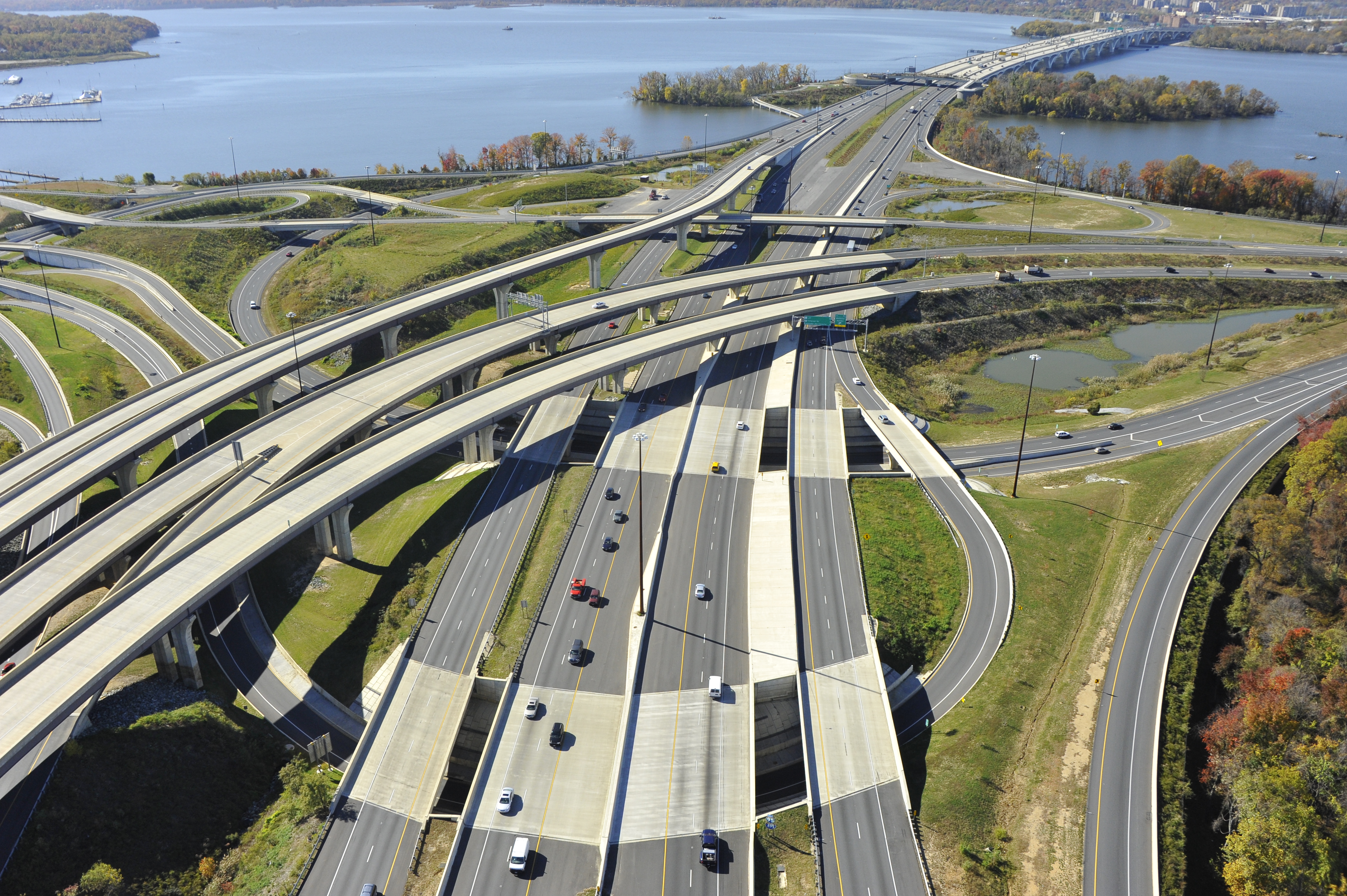 I-95/I-495/I-295 Woodrow Wilson Bridge – JMT