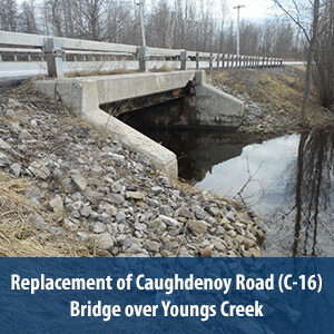 Replacement of Caughdenoy Road (C-16) Bridge over Youngs Creek