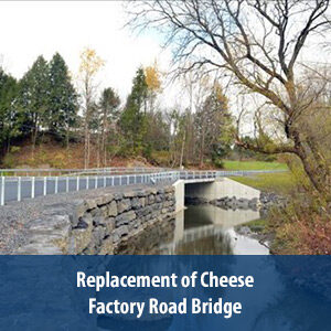 Replacement of Hill Street Road Bridge over the Cayadutta Creek