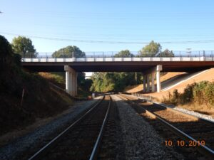 Odd Fellows Road over Norfolk Southern