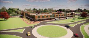 Final Rendering of Claymont Regional Transportation Center