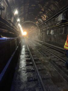 Canarsie Tunnel construction