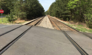 environmental analysis for proposed Helms Road rail grade separation - existing conditions